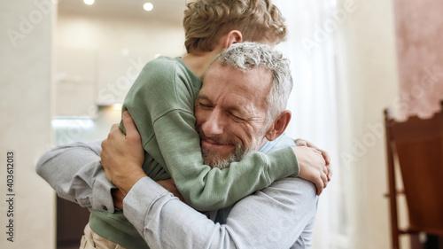 Fotografia The love of grandpa
