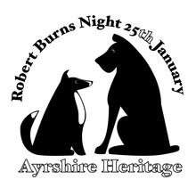 Robert Burns Night 25th January Scottish Heritage Festival Twa Dogs Poem Silhouette Of A Dog