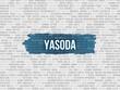 canvas print picture - Yasoda