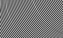 Abstract Pattern Of Black And White Lines Optical Illusion Vector Illustration Background Part 8