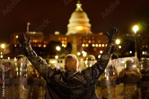 Obraz Protester - fototapety do salonu