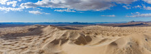 Aerial View Of The Beautiful Kelso Dunes