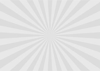 グレー系集中線のベクター背景素材