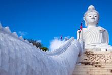 Phra Phutta Ming Mongkol Akenakiri. Great Buddha In Phuket.