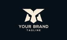 The Initial Ym Logo Is Made With The Face Of A Robot, Alien, Or The Like.