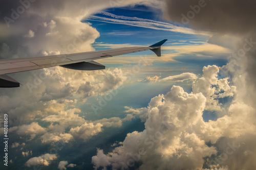 Foto Über den Wolken