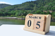 March 5, Cover The Natural Background For Your Business.