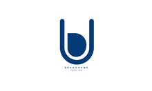 Alphabet Letters Initials Monogram Logo BU, UB, B And U
