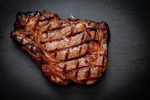 Ribeye Beef Steak Grilled Perfectly