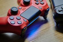 Plano Cerrado De Joystick Inalámbrico Para Consola De Videojuegos