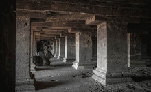 The Hallmark Of India Is Stunning Sculptures, Temples, A Mysterious Atmosphere That Permeates All Of This Slightly Gloomy And Even Frightening Place Of Ellora's Cave