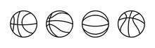 Basketball Icon Vector. Basketball Ball Icon. Basketball Logo Vector Icon