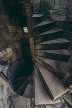 Historycal Stairs To The Top Of Cliffords Tower