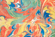 Vintage Colorful Pattern Background, Featuring Public Domain Artworks