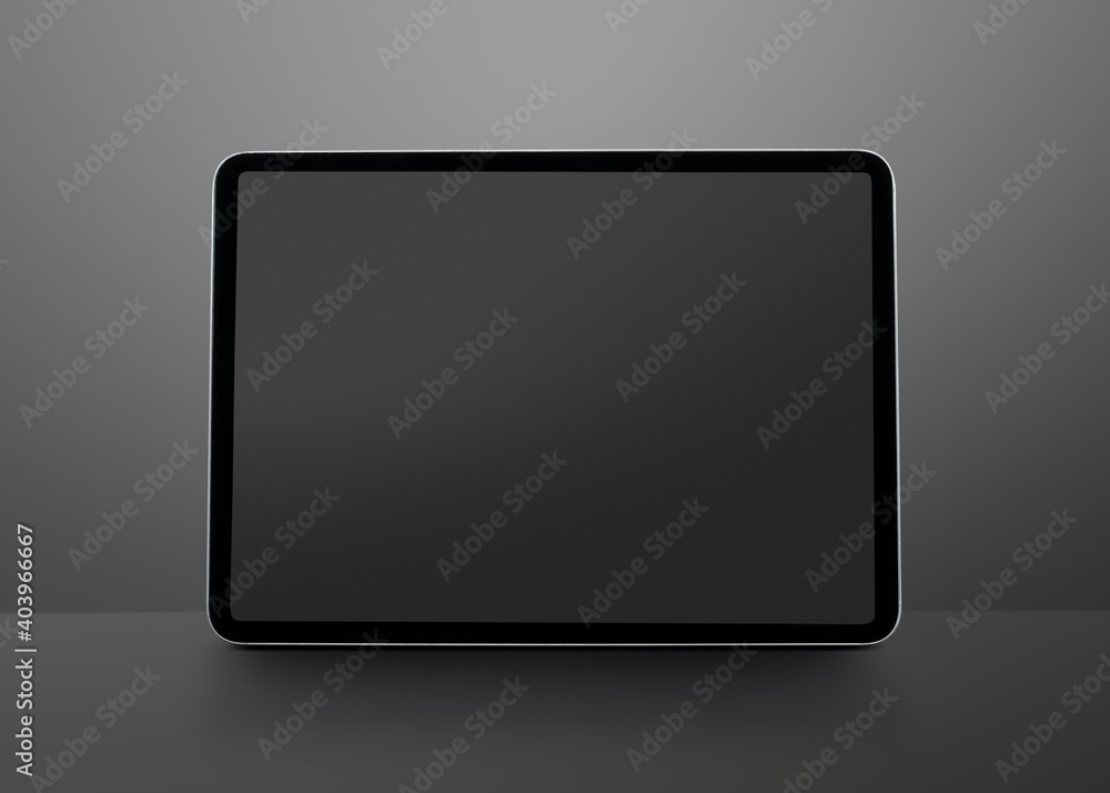 Fototapeta Digital tablet screen mockup smart tech