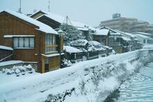 A Snow Day In Kanazawa, 2021.