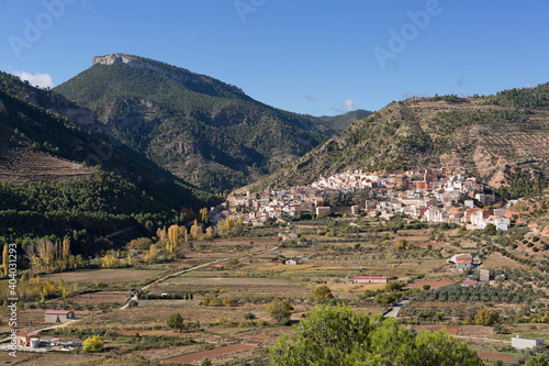 Obraz Scenic View Of Mountains Against Clear Sky - fototapety do salonu