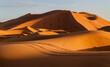 Leinwandbild Motiv Sand Dunes In A Desert