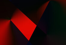 Dark Red Green And Blue Lights Gradient Fire Nature