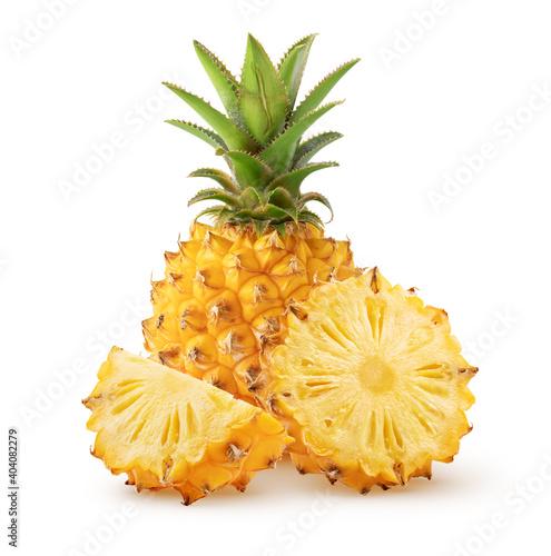 Obraz na plátně Isolated pineapple