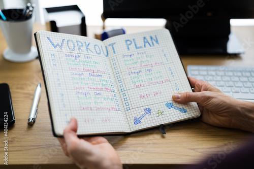 Photo Workout Training Exercise Plan