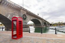 Cloudy View Of The Famous London Bridge