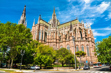 Cathedral Of The Immaculate Conception In La Plata, Argentina