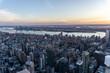 Stunning city view of New York city