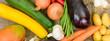 Gesundes Essen mit Obst und Gemüse
