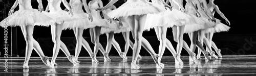 Foto Swan Lake ballet.