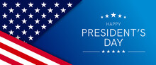USA Presidents Day - Washington's Birthday Celebrate Banner Background. Vector Illustration.