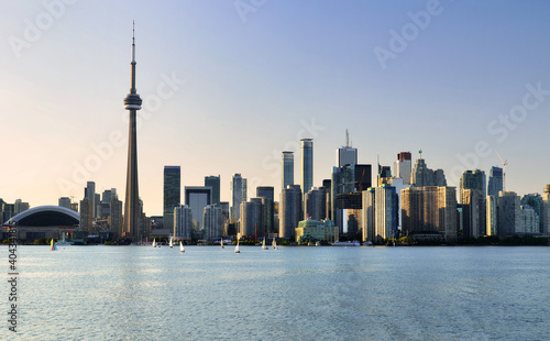 Fototapeta premium View Of Skyscrapers Against Clear Sky