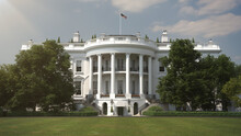 The White House South View