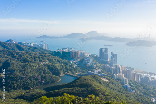 Southern side of Hong Kong Island, Viewing from the Peak
