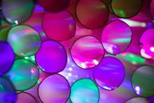Full Frame Shot Of Colorful Soap Sud