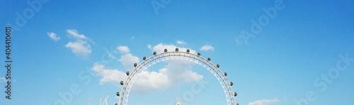 Fotografie, Obraz Low Angle View Of Ferris Wheel Against Sky