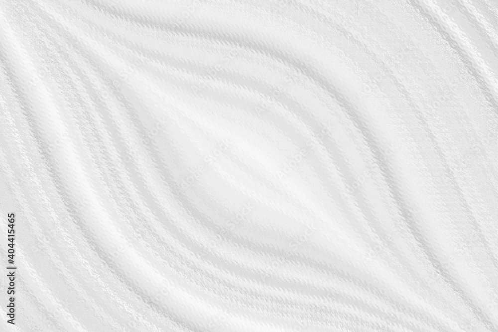 Fototapeta Blurred white background with elements of circles. The texture of volumetric figures for a screensaver or wedding card. Blur with space design.