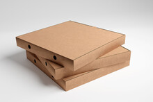 Pizza Box Mock Up - 3d Rendering