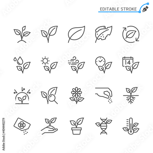 Canvas Plant icons light and dark theme. Pixel perfect.