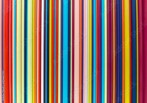 Colorful striped abstract background, variable width stripes Fototapet