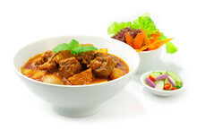 Beef Curry Massaman Asian Food Style
