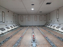 Aircraft Cargo Compartment.Cargo Compartment Of Freighter Aircraft.
