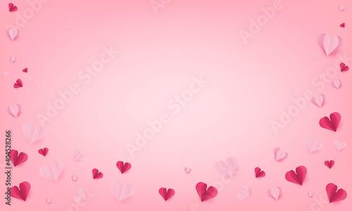 Happy Valentine's days of background. vector illustration © photoraidz