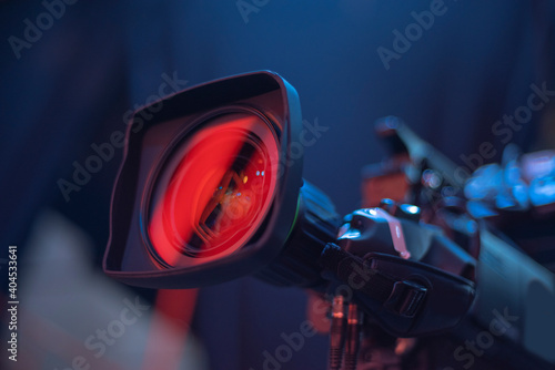 Obraz studio camera at the concert. - fototapety do salonu