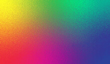 Multicolored Background. Colorful Gradient. Bright Color Texture. Neon Colors. Metallic Abstract Background. Vibrant Metal Effect Foil. Multicolor Backdrop Design For Party Prints. Vector Illustration