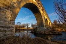 The Historic Tiffany Five Arch Bridge