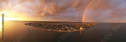 Papel de parede Storm Creates Rainbow Over the Northwest Arctic Borough of Kotzebue Alaska