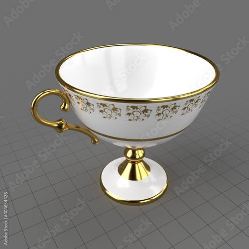 Fototapeta High footed teacup obraz