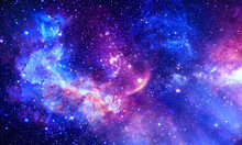 Lumbrous Galaxy - Elements Of This Image Furnished By NASA