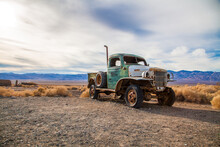 Old Truck In Death Valley